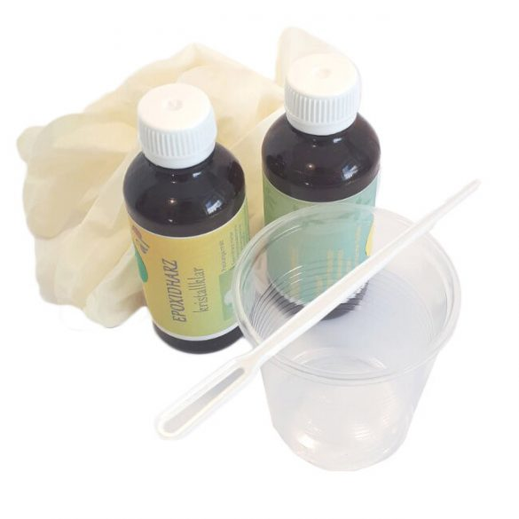 Epoxy Resin, Crystal Clear, UV Stable, Jewellery Resin