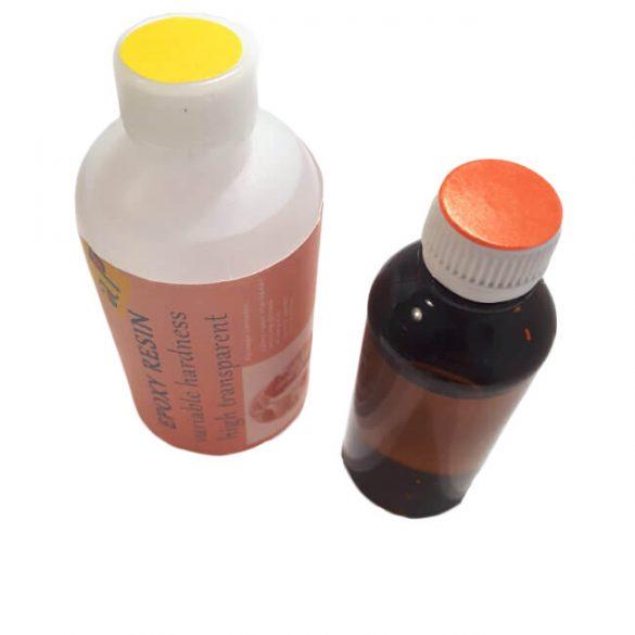 Epoxi öntőgyanta, Változtatható Keménységű, UV álló, Víztiszta