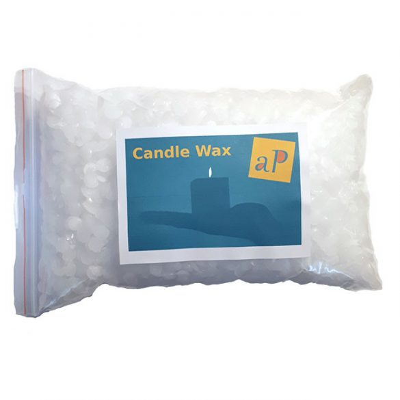 Candle Wax, Paraffin Granulate, 62 C Drop Point