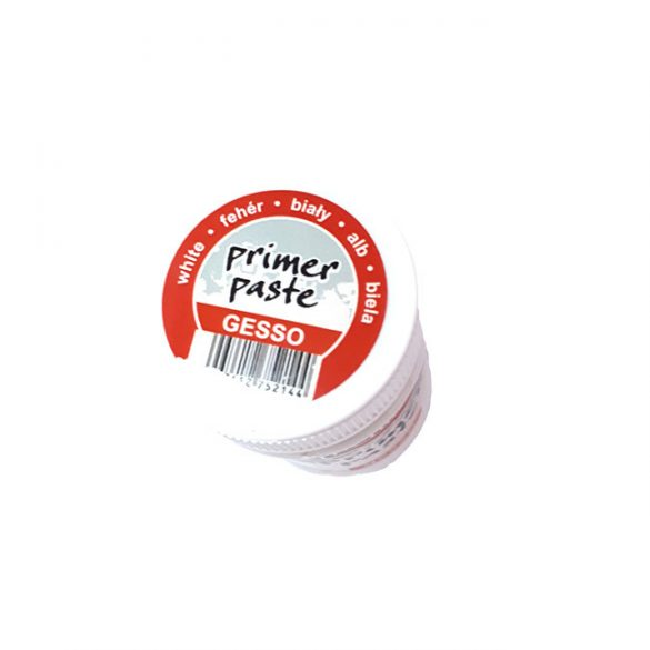 Gesso, White, spreadable, Pentart Primer Paste