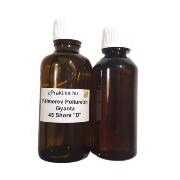 Félmerev áttetsző fehér poliuretán gyanta