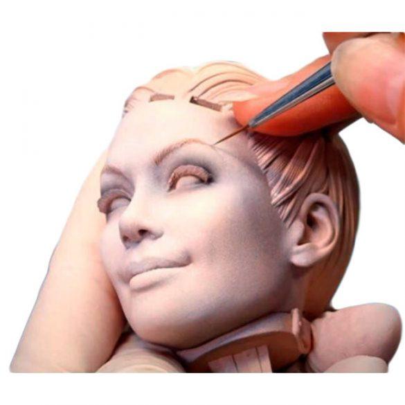 Modellező gyurma - kis szobor