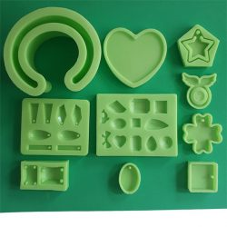 Home Made jewellery Silicone Moulds, Big Pack, 10 Pieces