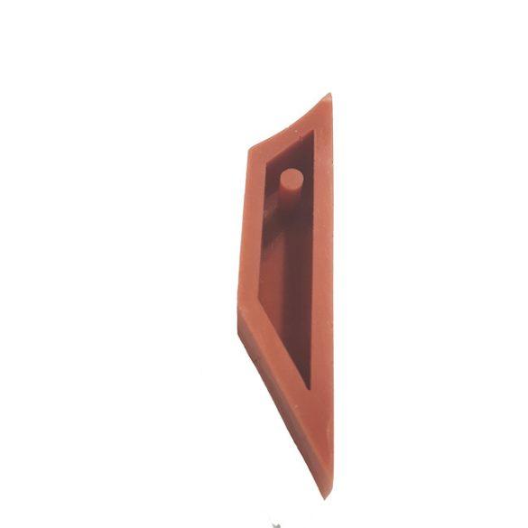 Beton Ékszer Öntőforma - Trapéz - Bal