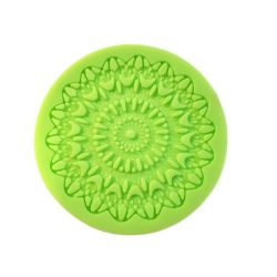 Mandala Decorating Sugar Lace Silicone Pattern, Dim 80mm