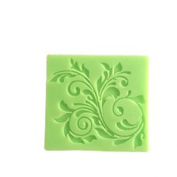 Leaf Decoration Silicone Pattern Form