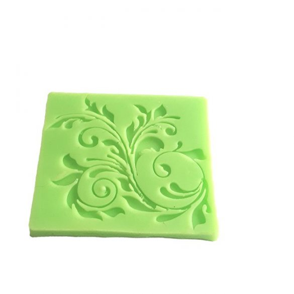 Leaf Decoration Silicone Pattern Form