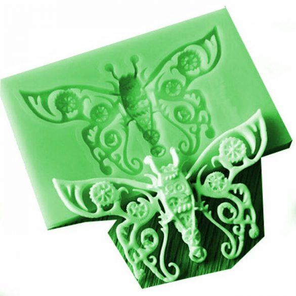 Pillangó Forma Szilikon Sablon