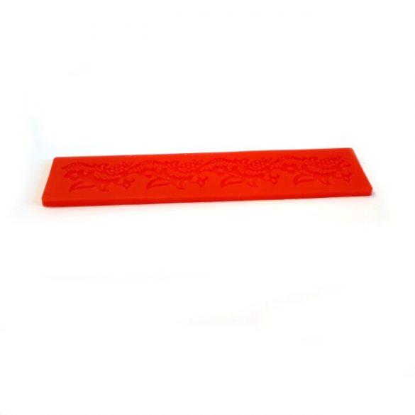 Levelek Szilikon Cukorcsipke Sablon 17.5 cm X 4 cm
