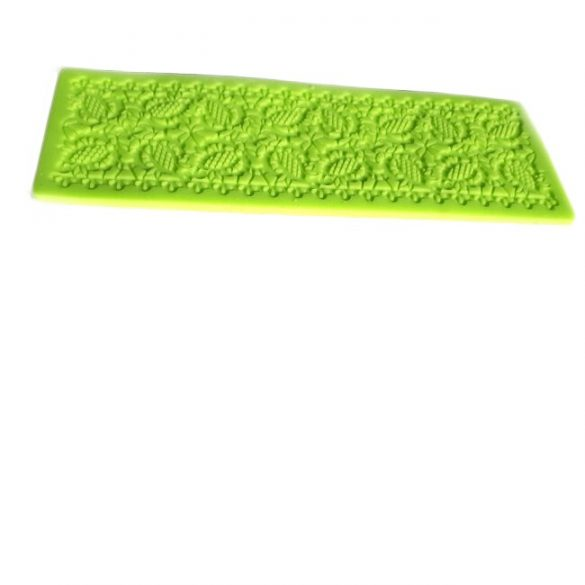Flowers Decorating Silicone Lace Pattern, 18.5 cm X 6.8 cm