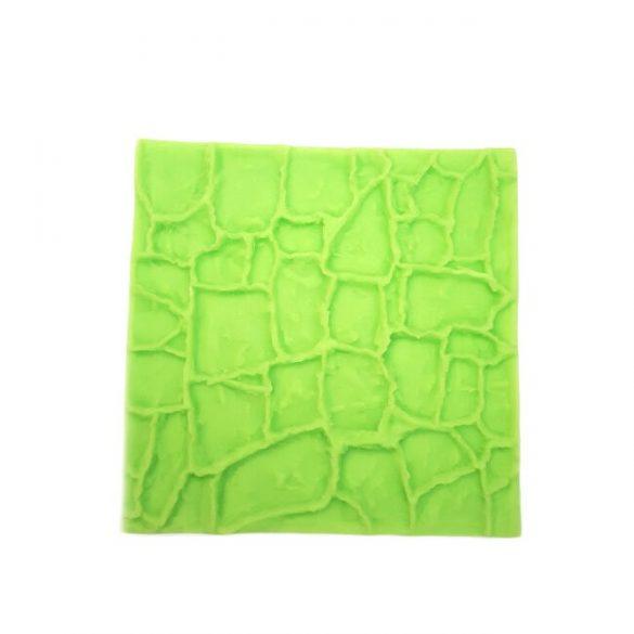 Fondant pattern - Stone wall