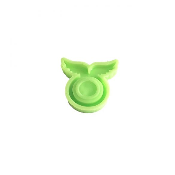 Silicone Mould for Epoxy Ring Casting, ID 17mm, Angel Wings