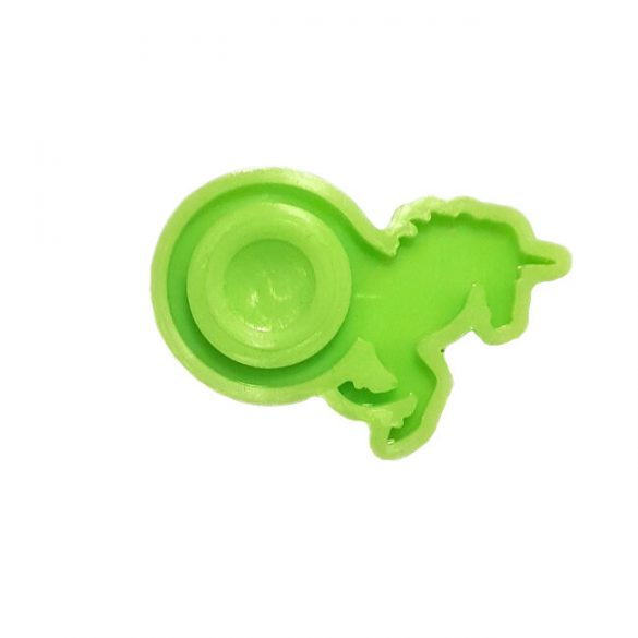 Silicone Mould for Epoxy Ring Casting, ID 17mm, Unicorn