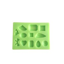 Pendant of 12 Pieces Silicone Mould