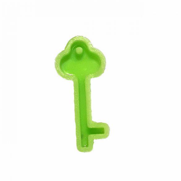Kulcs Alakú Medál Öntőforma, Szilikon