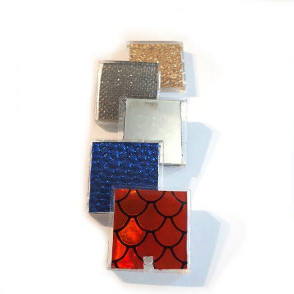 Square Medallion Silicone Mould