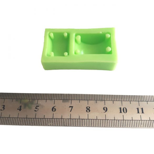 Silicone Mould for Epoxy Buckle Casting, Stackable