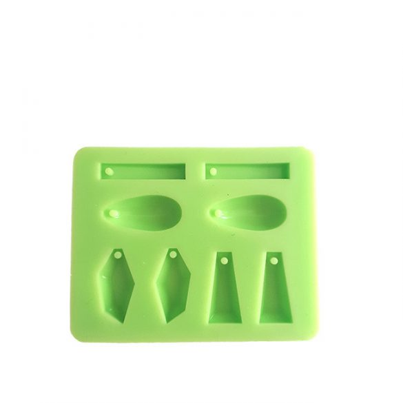 Earring of 4 different Types Silicone Mould