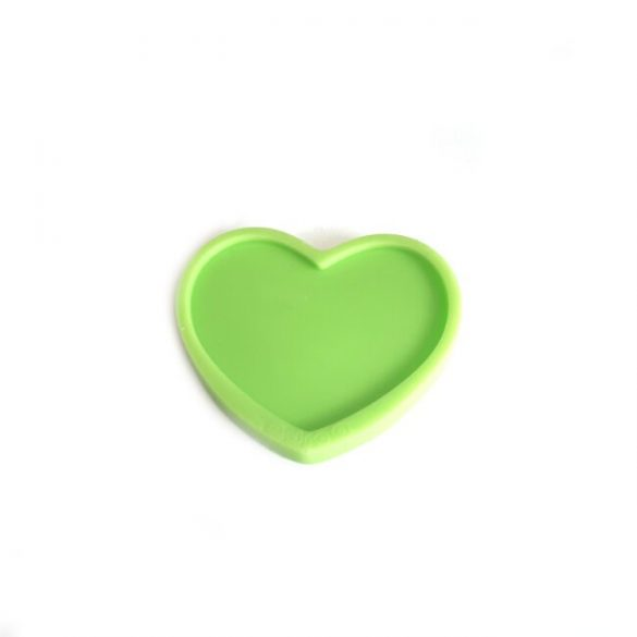 Silicone Mould for Casting Heart Decoration