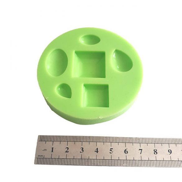 Lens of 6 Pieces Silicone Mould For Home Made jewellery