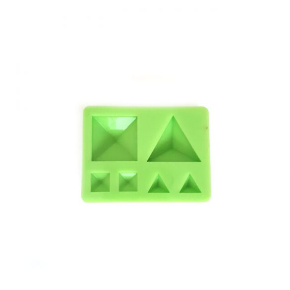 jewellery Stones Casting Silicone Form, Pyramid