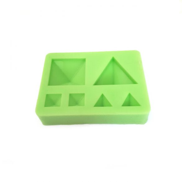 jewellery Stones Casting Silicone Form, Pyramid