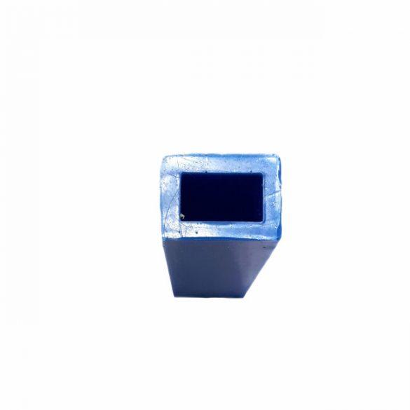 49x19 mm téglalap alapú téglatest medál szilikon öntőforma