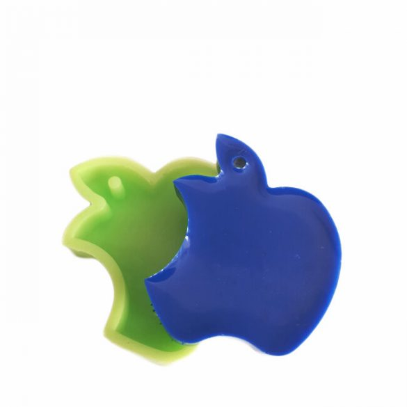 Apple Medallion Silicone Mould