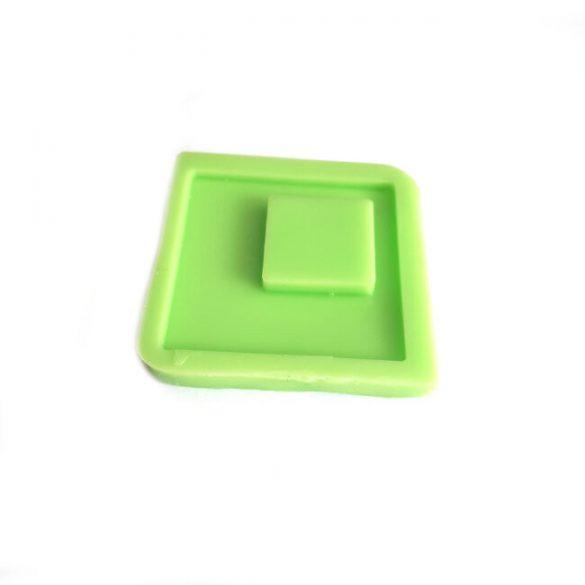 Square Pendant Mould - Flat