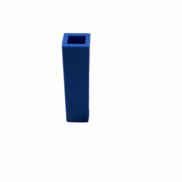 49x19 mm négyzetes téglatest medál szilikon öntőforma
