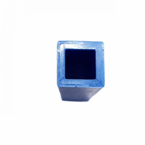 49x19 mm Square Prism Medallion Silicone Mould