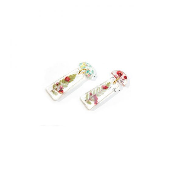 "Modern earrings silicone mould ""B"""