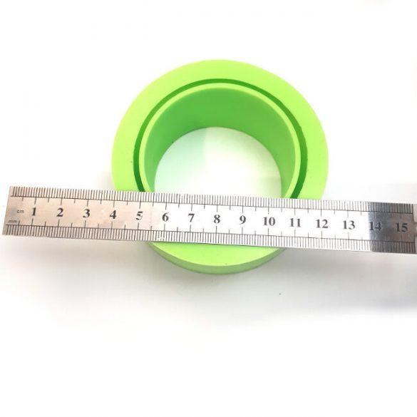 Karkötő szilikon öntőforma - széles -átm. 62 mm