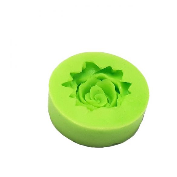 Marzipan Rose Silicone Mould
