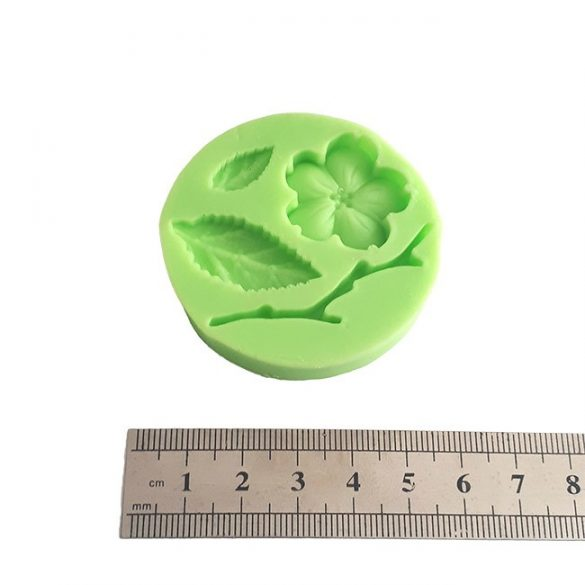 Flowers Leaf Branch Silicone Fondant Mould