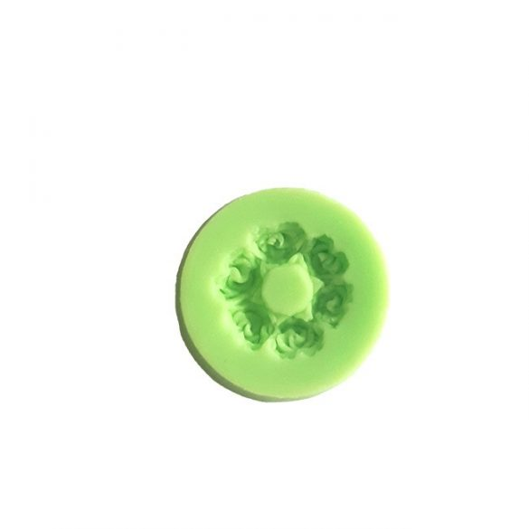Rose Flower Shape Silicone Mould
