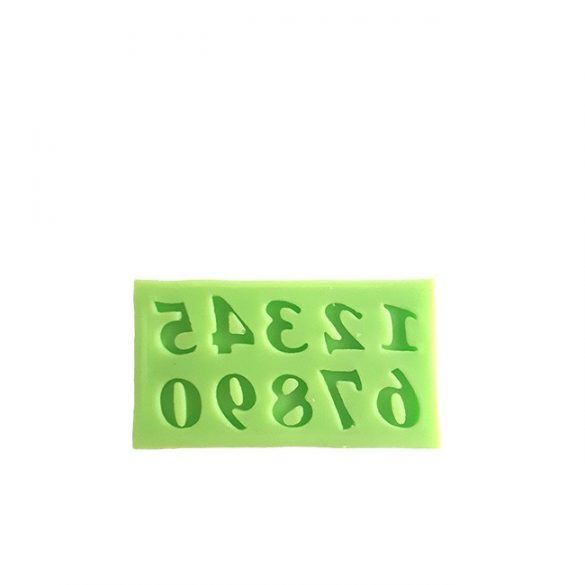 Numbers Silicone Mould for Decoration