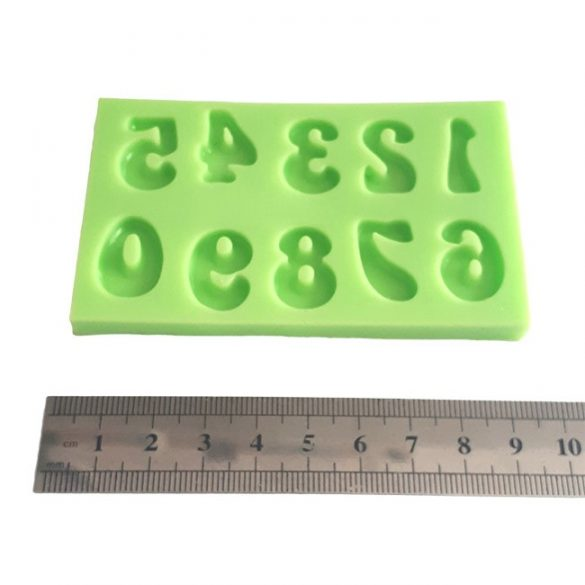 Numbers of 2 cm Silicone Mould