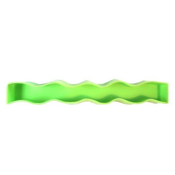 Gyertyaöntő szilikon forma - hullám-1