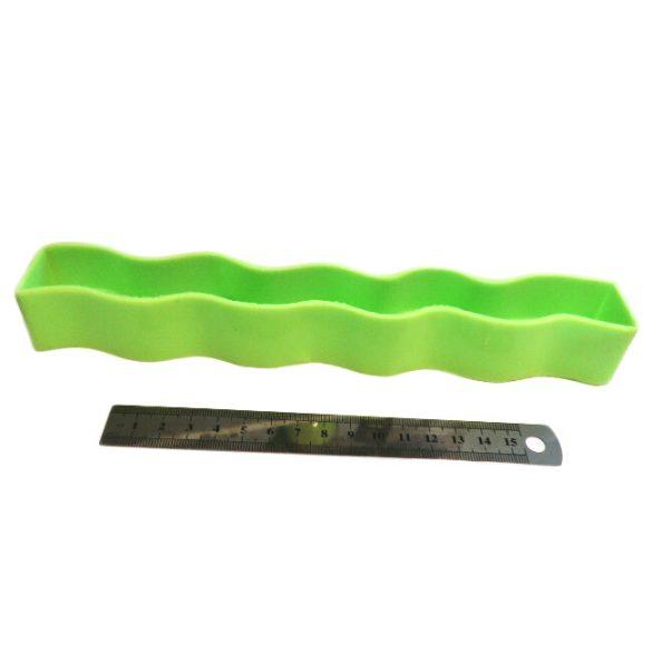 Gyertyaöntő szilikon forma - hullám