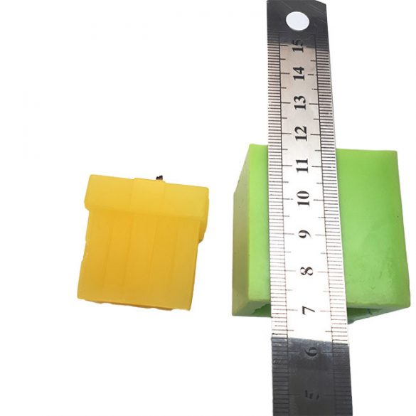 Candle mould - silicone - bow A