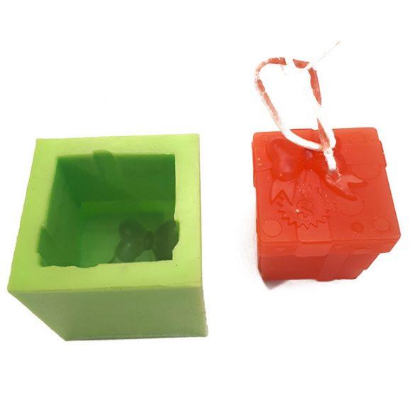Gyertyaöntő szilikon forma - masnival B