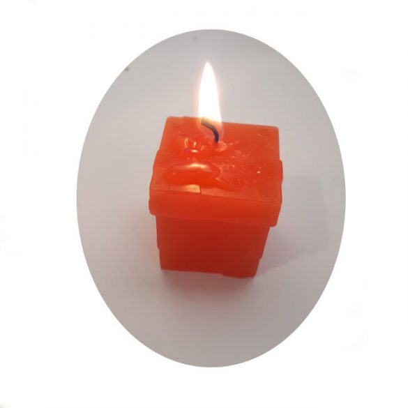 Candle mould - silicone - bow B