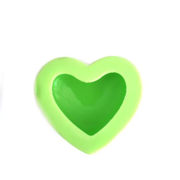 3 D Szív  szilikon forma