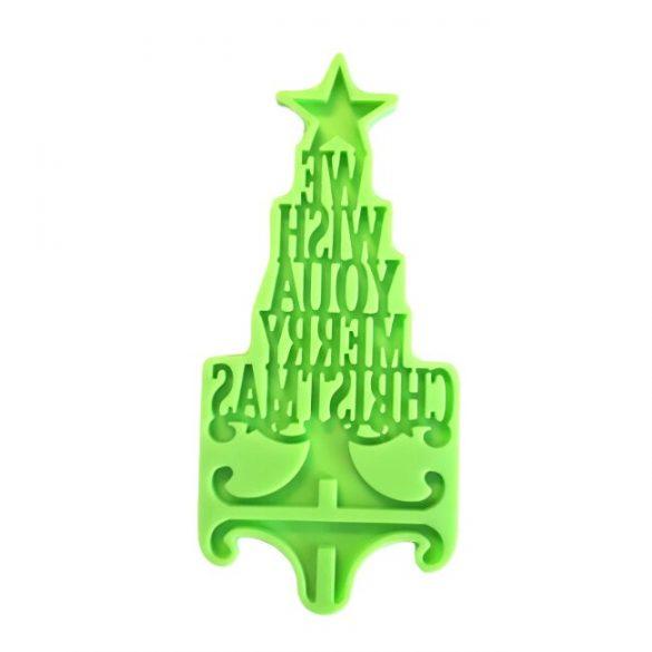 Christmas table decoration maker mould