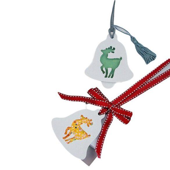 Karácsonyi dísz - Rénszarvas dísz szilikon forma