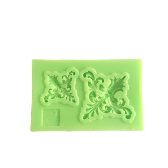 Corner Part Silicone Lace Pattern for DIY Resin Casting