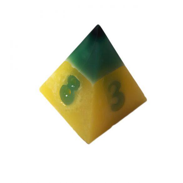 Piramis Öntőforma Dísztárgy Készítéshez