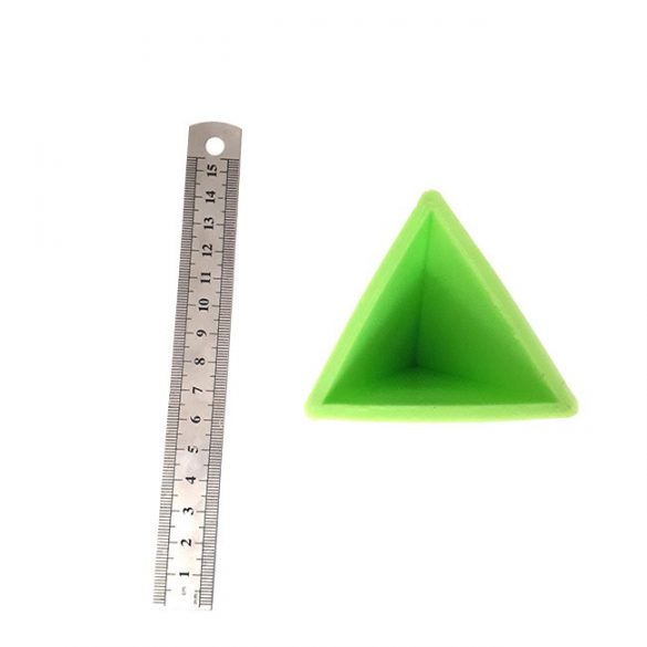 Tetrahedron Silicone Mould for Home Decoration