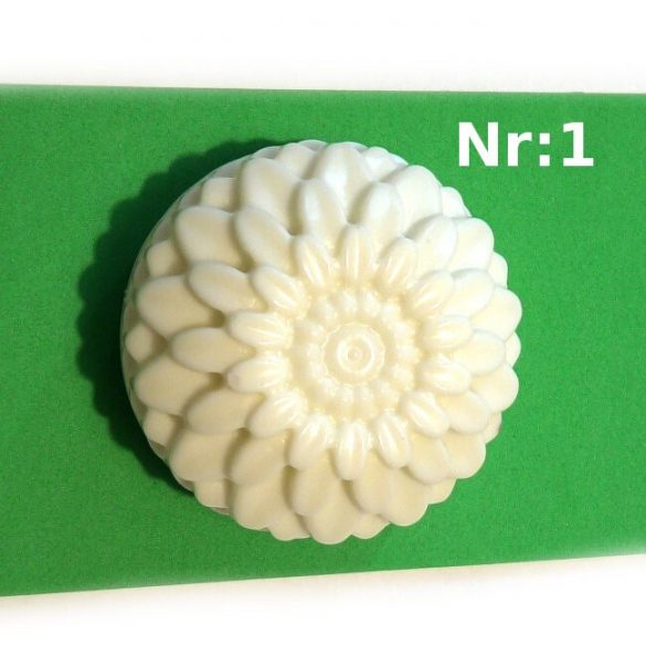 Soap Mould - Silicone - flower pattern